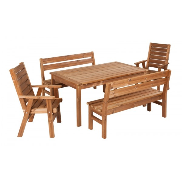 Wooden Garden Furniture Prowood Made Of Thermowood Set L3
