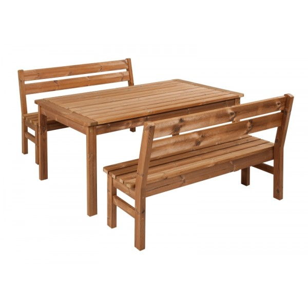Wooden Garden Furniture Prowood Made Of Thermowood Set L4