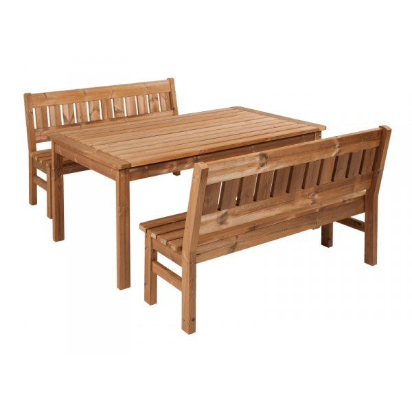 Wooden Garden Furniture Prowood Made Of Thermowood Set L5