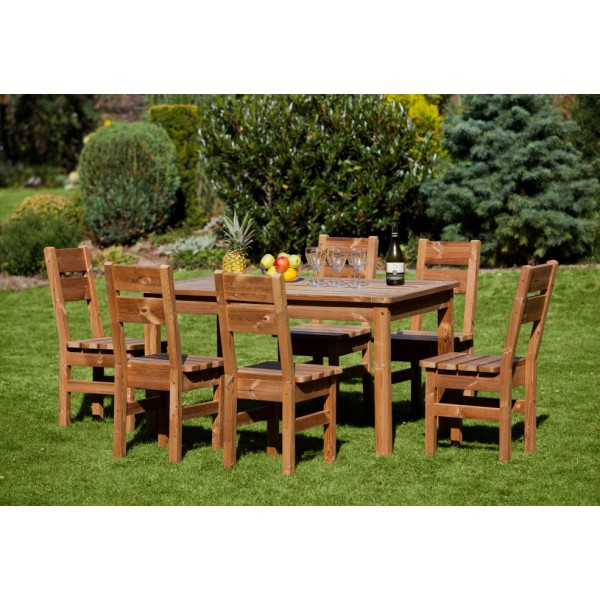 Wooden Garden Furniture Prowood Made Of Thermowood Set M2