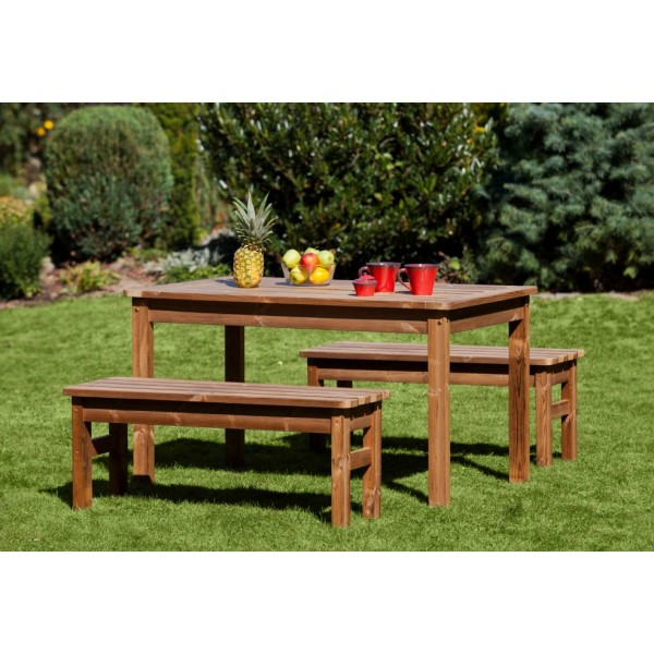 Wooden Garden Furniture Prowood Made Of Thermowood Set M6