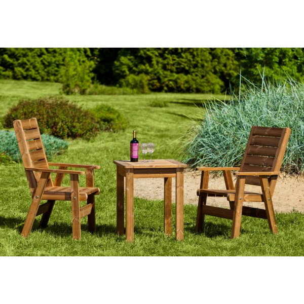 Wooden Garden Furniture Prowood Made Of Thermowood Set S1