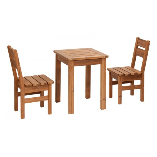 Wooden Garden Furniture PROWOOD Made Of THERMOWOOD SET S2