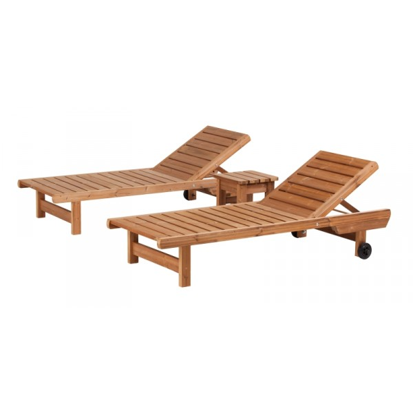 Wooden Garden Furniture Prowood Made Of Thermowood Set V2