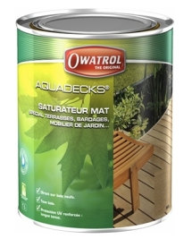 ThermoWood<sup>®</sup> - nátěr OWATROL – AQUADECKS