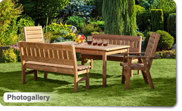 Wooden garden furniture PROWOOD – Photogallery