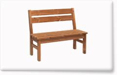 Wooden garden furniture PROWOOD – Bench LV1 110