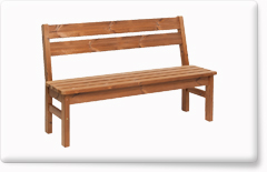 Wooden garden furniture PROWOOD – Bench LV1 145