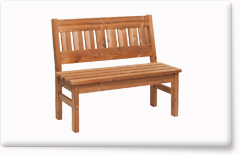 Wooden garden furniture PROWOOD – Bench LV2 110