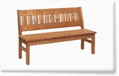 Wooden garden furniture PROWOOD – Bench LV2 145