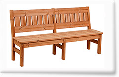 Wooden garden furniture PROWOOD – Bench LV2 178