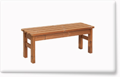 Wooden garden furniture PROWOOD – Bench LV3 110