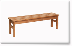 Wooden garden furniture PROWOOD – Bench LV3 145