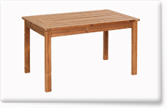 Wooden garden furniture PROWOOD – Table ST1 135