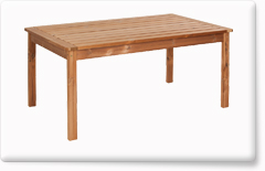 Wooden garden furniture PROWOOD – Table ST1 167