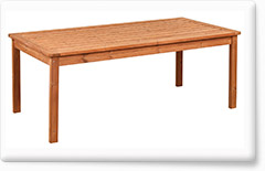 Wooden garden furniture PROWOOD – Table ST1 200