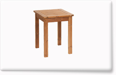 Wooden garden furniture PROWOOD – Table ST1 60