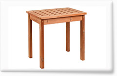 Wooden garden furniture PROWOOD – Table ST1 80
