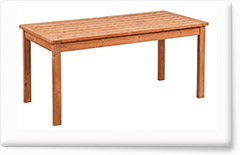 Wooden garden furniture PROWOOD – Table ST2 167