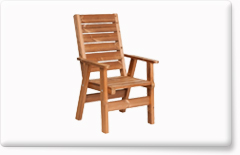 Wooden garden furniture PROWOOD – Armchair ZK1