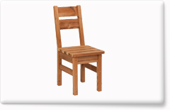 Wooden garden furniture PROWOOD – Chair ZK2