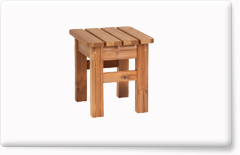 Wooden garden furniture PROWOOD – Stool ZK3